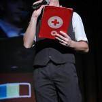 Ziua Voluntariatului, sarbatorita de Crucea Rosie la Teatrul Bacovia (4)