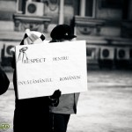 Proteste in Bacau (2)