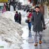 Se topeste zapada in Bacau (2)