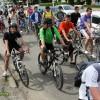 Biciclisti in Bacau