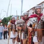 romani si daci in bacau gruppo storico romano (2)