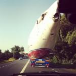 Boeing 737, pe șosea