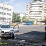 accident policlinica veche bacau ford ka bmw (1)