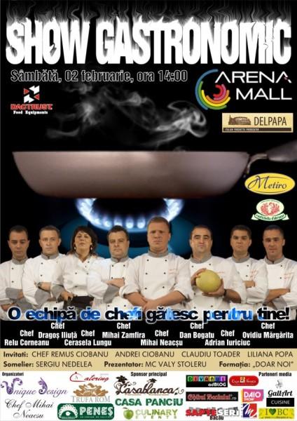 Live Cooking Show Arena Mall Bacau