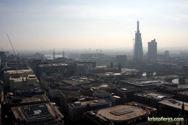 panorama orasului londra