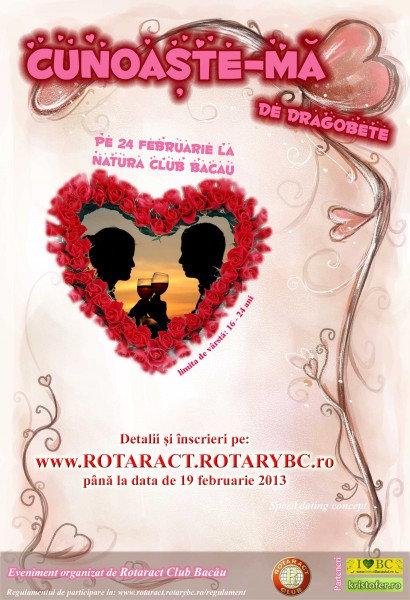 Cunoaste-ma de dragobete speed dating bacau rotaract 2013