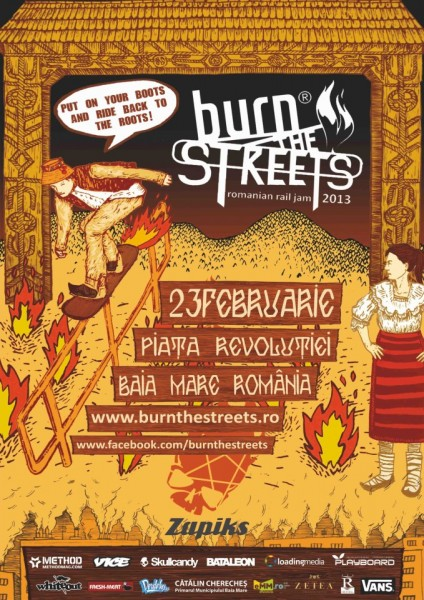 burn the Streets _ poster
