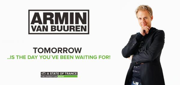 Armin van Buuren ASOT 600 Sofia