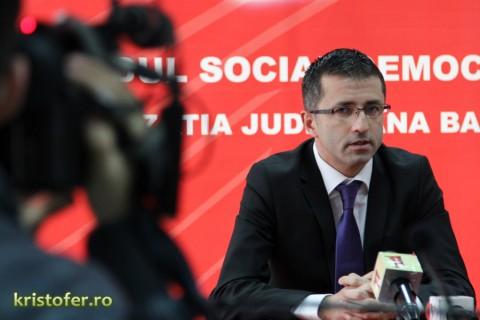 Conferinta de presa PSD Bacau Dragos Benea Sorin Brasoveanu 2013 (4)