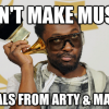 will.i.am stealing from arty and mat zo