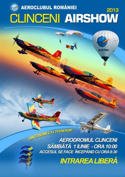 Clinceni Airshow 2013