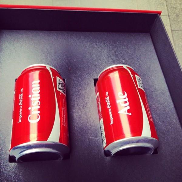 coca-cola personalizata nume romania