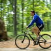 kristofer pe bicicleta