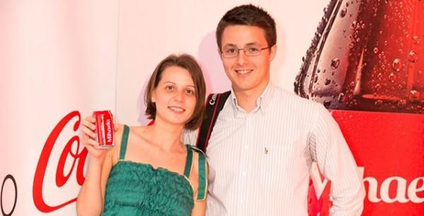 mihaela si kristofer la petrecerea coca cola