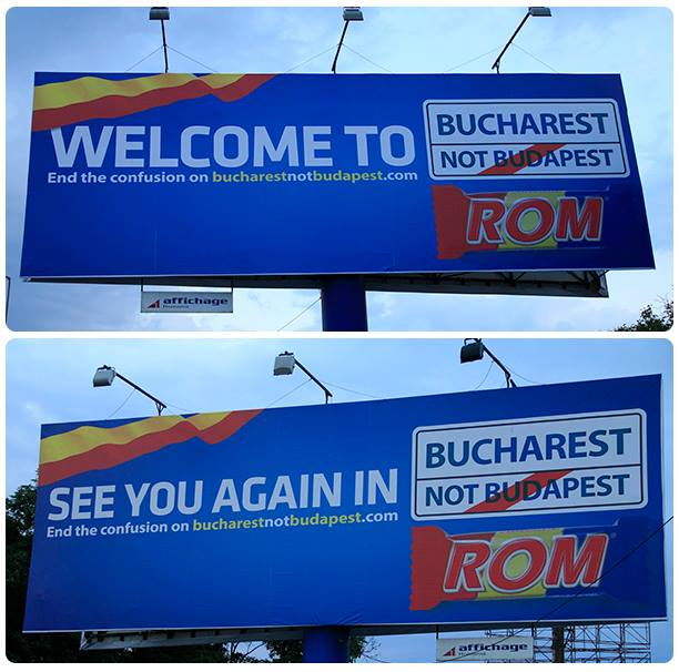 OOH - picture from Bucharest