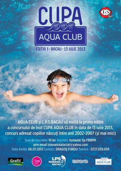 cupa aqua club inot bacau 2013