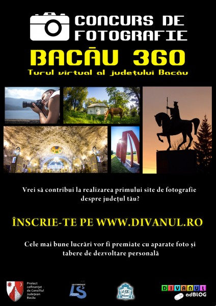 Flyer Concurs de fotografie Bacau 360