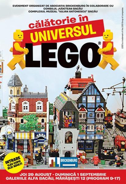 calatorie in lumea lego bacau