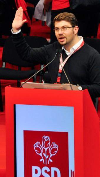Congresul TSD 2013 Bacau Claudiu Ilisanu vicepresedinte (5)