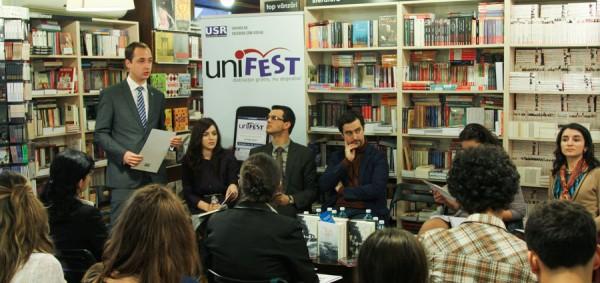 dezbatere implicarea tinerilor în procesul decizional la nivel înalt Unifest 2013 (1)