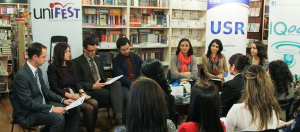 dezbatere implicarea tinerilor în procesul decizional la nivel înalt Unifest 2013 (3)