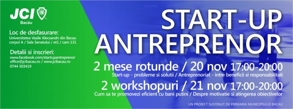 start-up antreprenor bacau