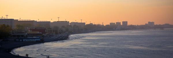 Plaja-Mamaia-la-apus-2013-1