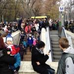 aglomeratie metrou 1 decembrie 2013