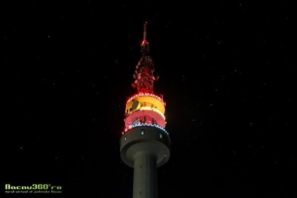 turnul de televiziune bacau noaptea mic
