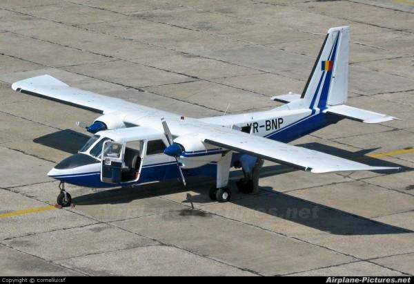 yr-bnp bn-2 accident aviatic muntii apuseni