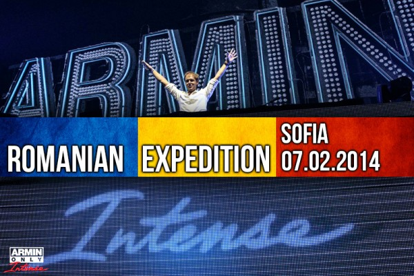 armin only intense romanian expedition sofia