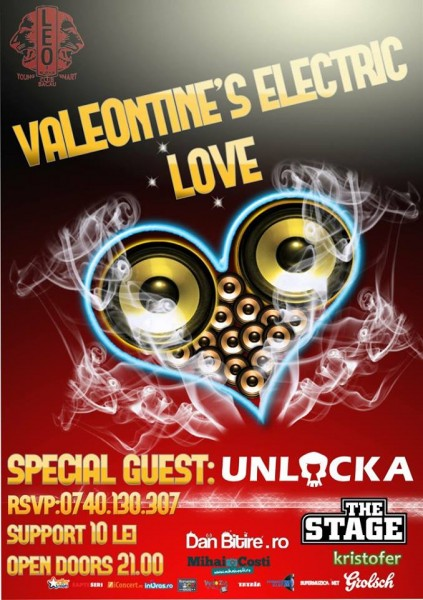 valeontine s electric love bacau
