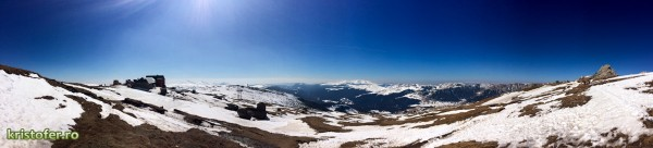 panorama bucegi 1 600x136 Trei panorame cu Platoul Bucegi