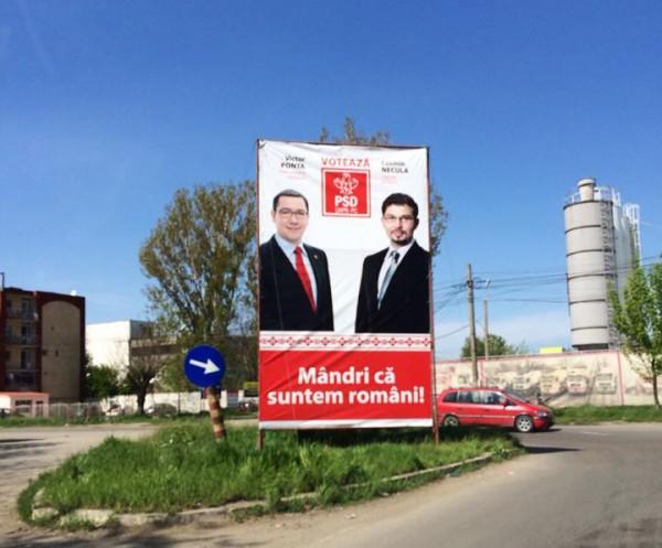 mandri ca suntem romani psd bacau campanie europarlamentare