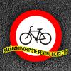 bacauanii vor piste pentru biciclete logo