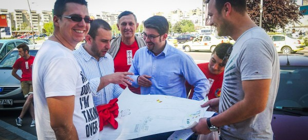 cosmin necula municipiul bacau campanie europarlamentare