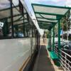 statie de autobuz octavian goga vopsita campanie electorala