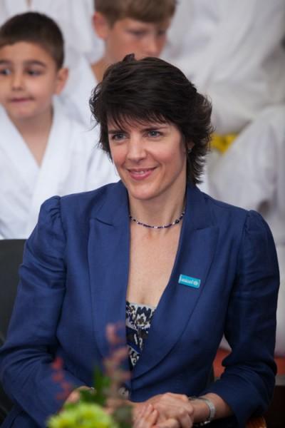 Sandie Blanchet, Reprezentantul UNICEF in Romania
