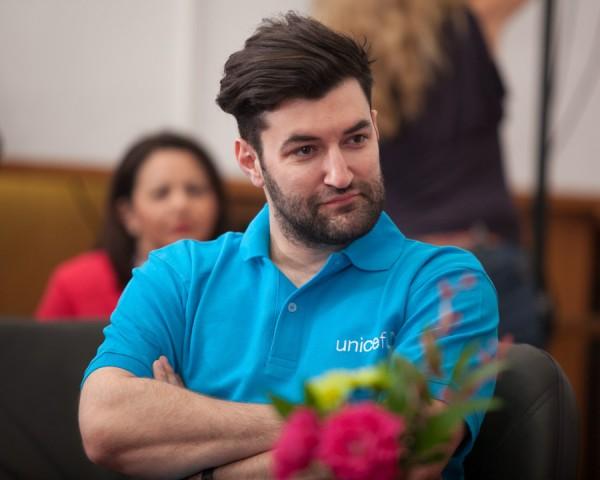 Smiley, Ambasador al Bunavointei pentru UNICEF Romania