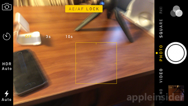 ios 8 camera manual controls