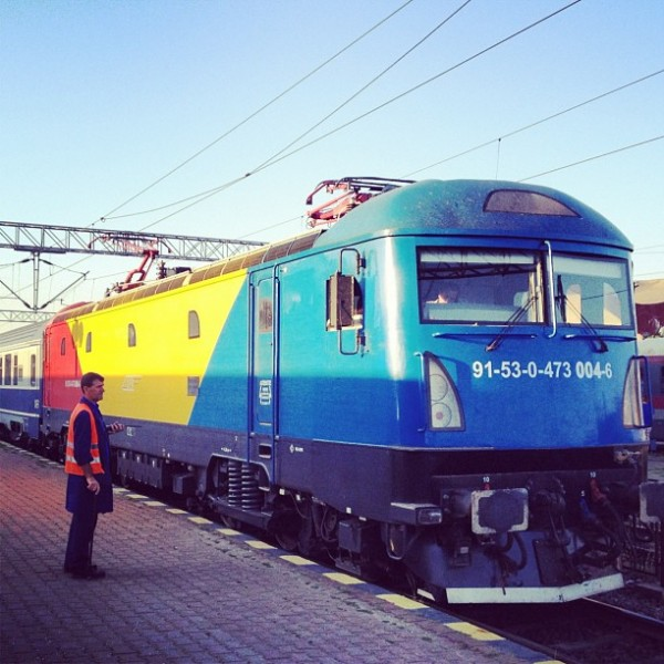 locomotiva softronic tricolora