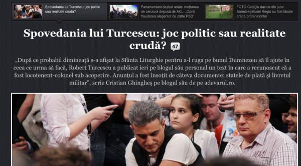 spovedania lui robert turcescu articol adevarul