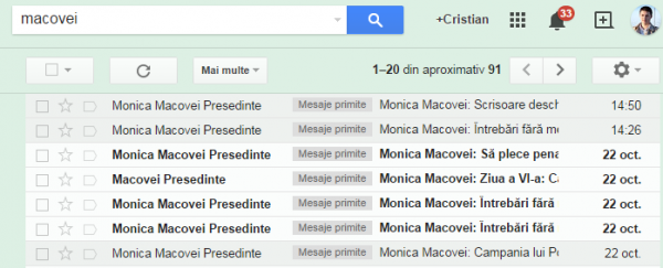 spam monica macovei