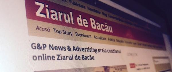 ziarul de bacau g p advertising