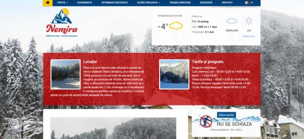 site partia slanic moldova