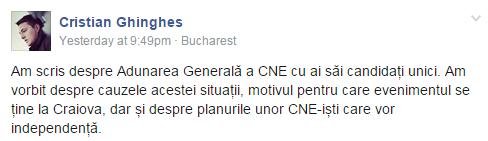 block facebook grup cne