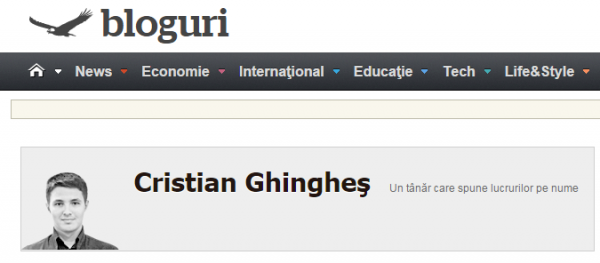 cristian ghinghes adevarul blog