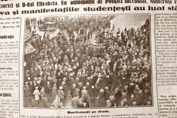 ziar istorie miscare studenteasca