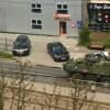 convoi militar centru bucuresti