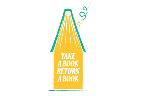 take a book return a book